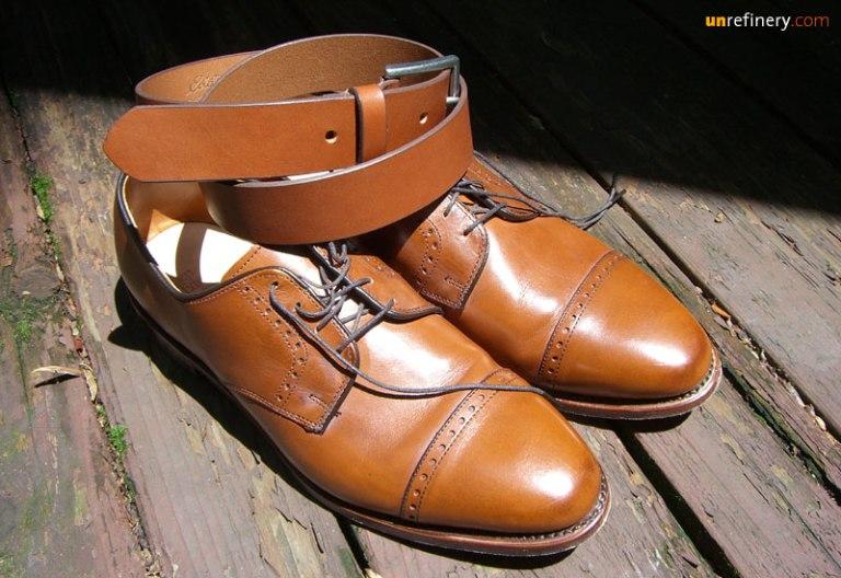 Matching Belt & Shoes