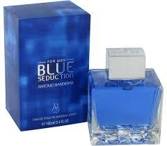 Blue Seduction by Antonio Banderas for the man