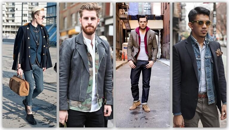 Men: Layering in winters with Style!