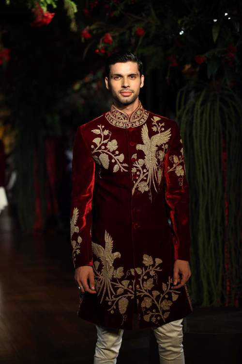 Rohit Bal collection for grooms