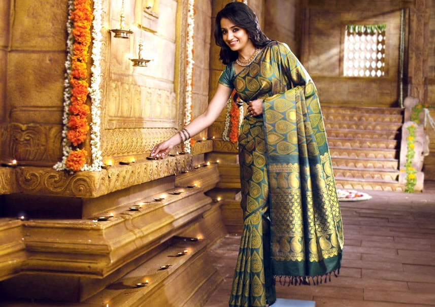 Women: 5 Traditional Sarees to catch up with your Pongal Celebration