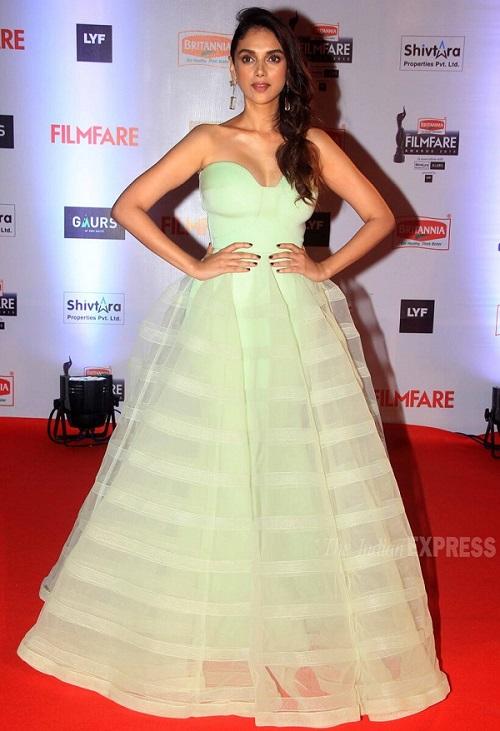 Aditi Rao in 2016 Filmfare Awards