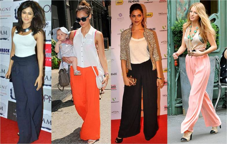 6 Amazing ways to style palazzo pants