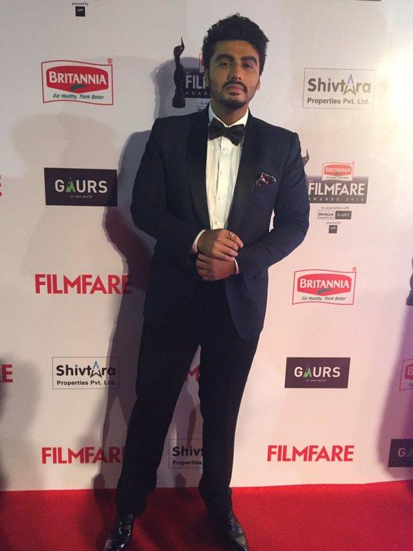 Arjun Kapoor in Filmfare 2015 Awards