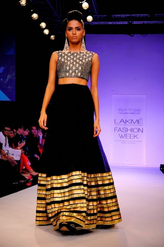 Crop Tops with Embellished Ghaghra