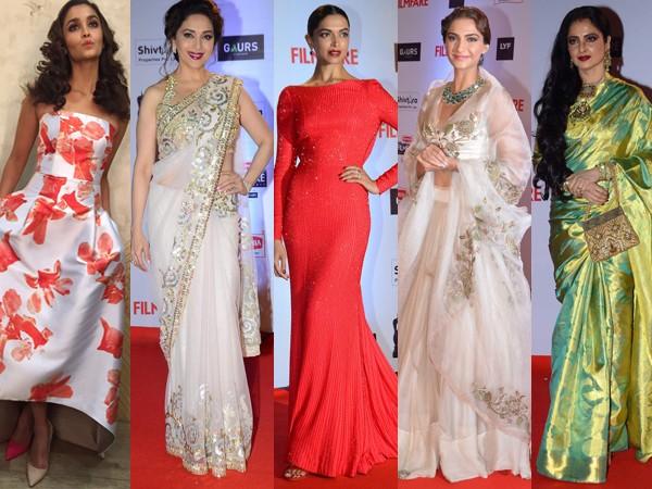 Women: Ravishing Divas on Red Carpet at 2016 Filmfare Awards
