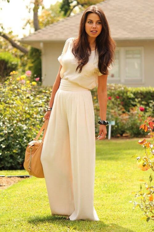 Jumpsuit look with Palazzo
