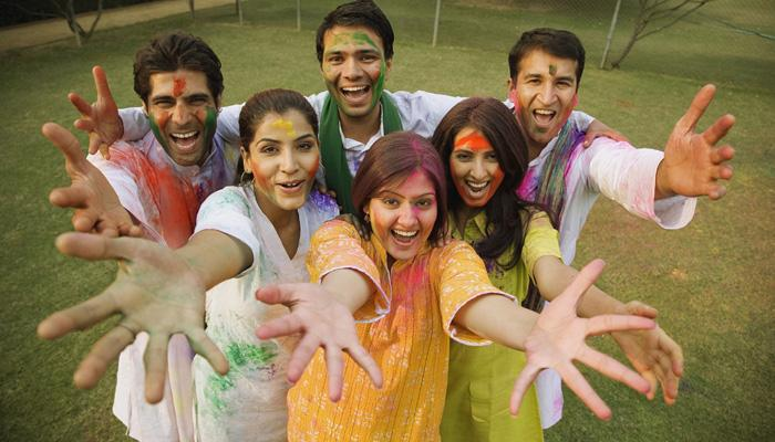Muslin cotton wear for Holi