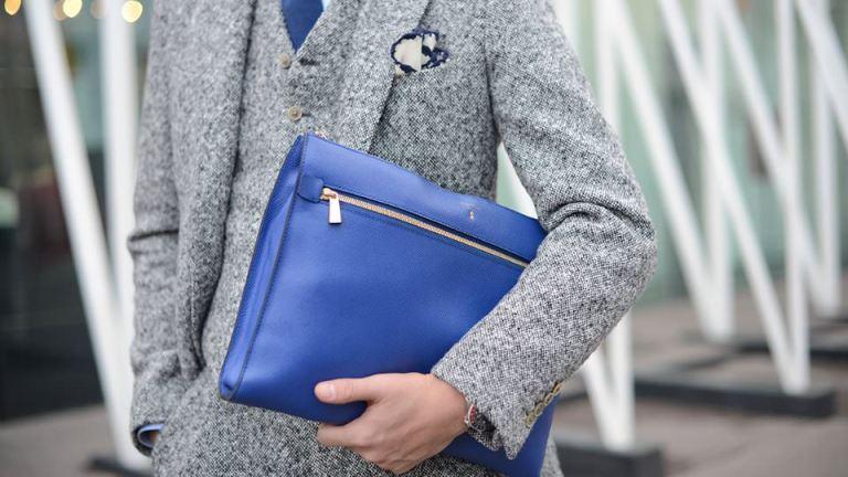 Accessories in blue