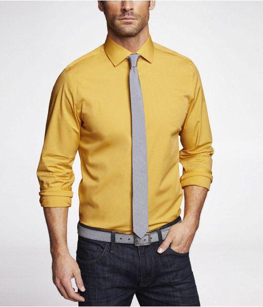 Mustard Shirt for Men