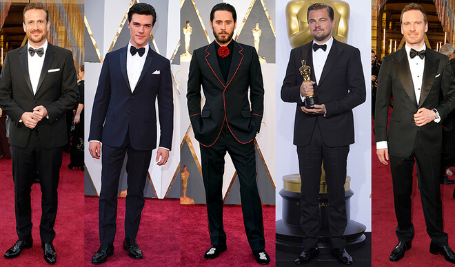 Men: The most stylish Celebs from Oscar 2016 Red Carpet