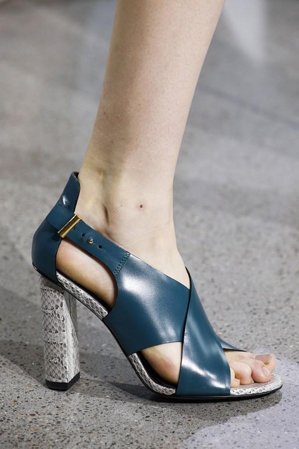 Animal Printed block heels