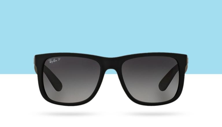 Ray-Ban Black/Grey Men's Sunglasses