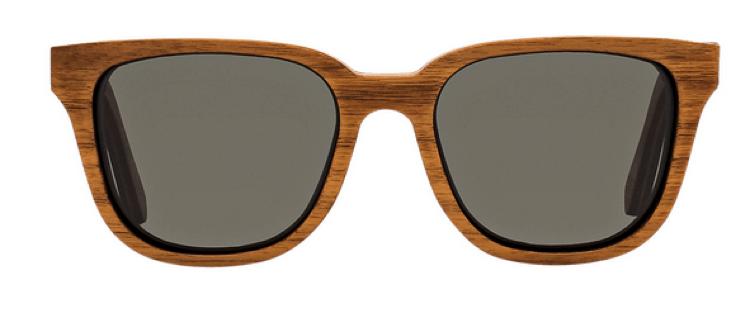 Shwood Polarized Wood-Framed Sunglasses