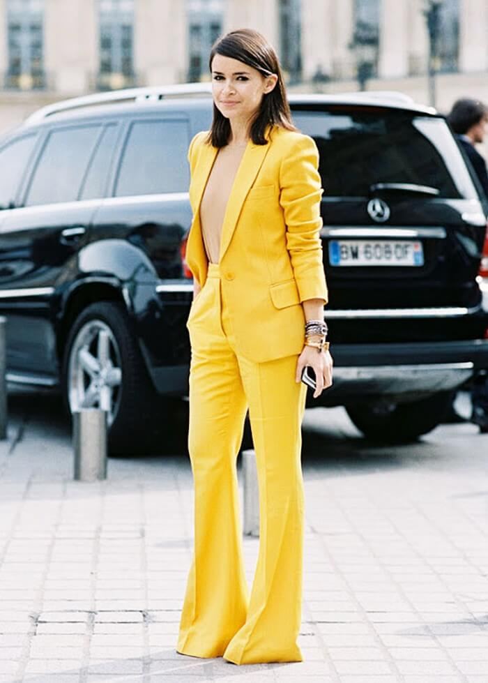 An Office attire in coordinate style